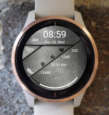 Garmin Watch Face - Steel
