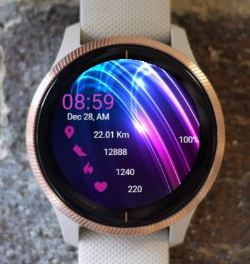 Garmin Watch Face - In Quantum Flow