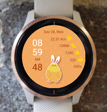 Garmin Watch Face - Easter 01