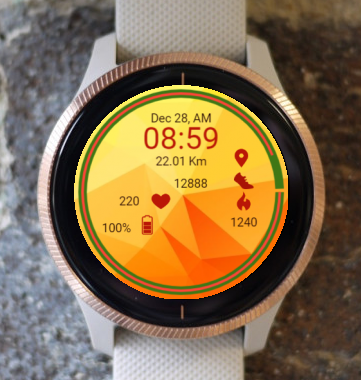 Garmin Watch Face - Crystalline