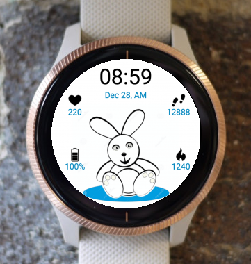 Garmin Watch Face - Bunny Watch