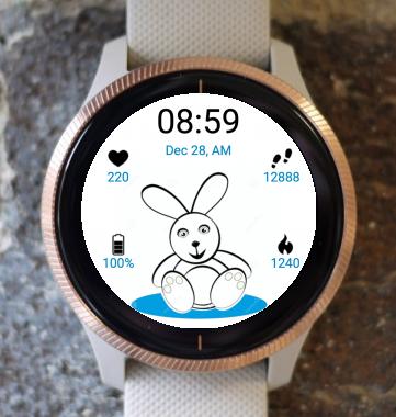 Garmin Watch Face - Bunny Watch