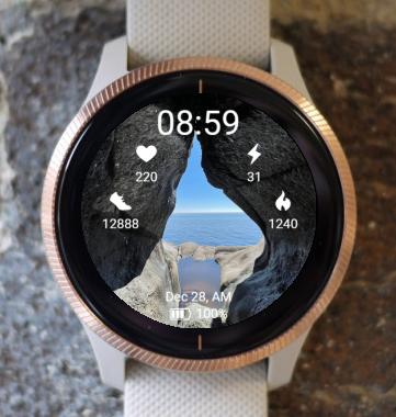 Garmin Watch Face - Brufjell hole