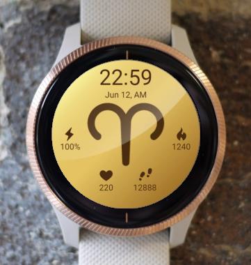 Garmin Watch Face - Aries 2