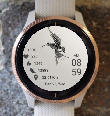 Garmin Watch Face - Bird 02