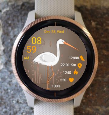 Garmin Watch Face - Bird 03