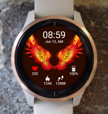 Garmin Watch Face - BW D207
