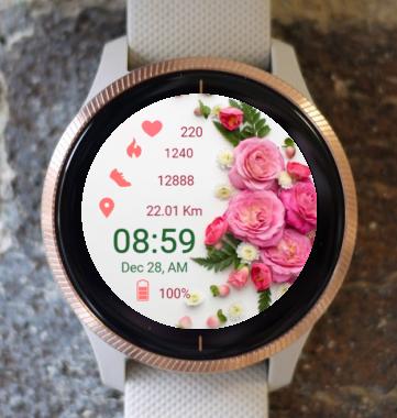 Garmin Watch Face - Softly In Spring