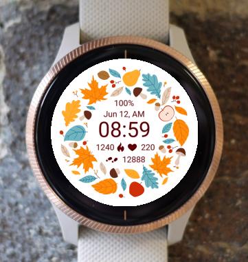 Garmin Watch Face - Autumn Magic 25