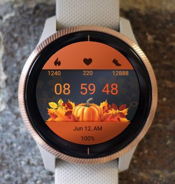 Garmin Watch Face - Thanksgiving 05