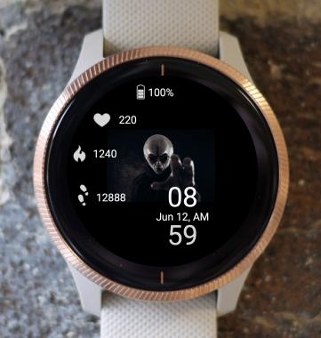 Garmin Watch Face - Ufo