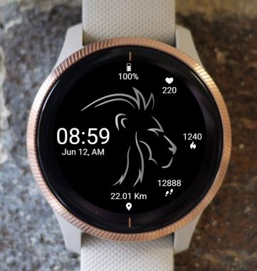 Garmin Watch Face - BW D200
