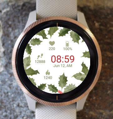 Garmin Watch Face - Christmas Nature G