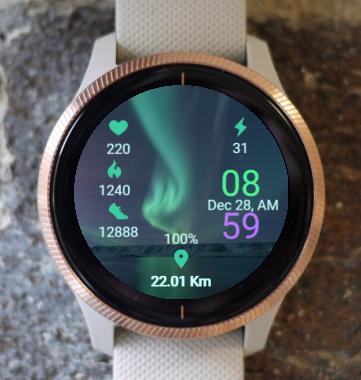 Garmin Watch Face - Active Light