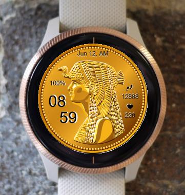 Garmin Watch Face - Cleopatra