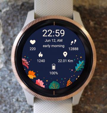 Garmin Watch Face - Autumn