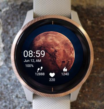 Garmin Watch Face - Mars SS