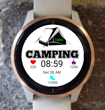 Garmin Watch Face - Camping