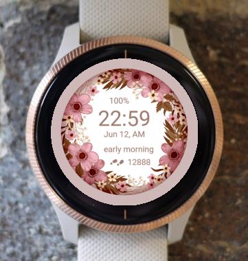 Garmin Watch Face - Flower Fair 13