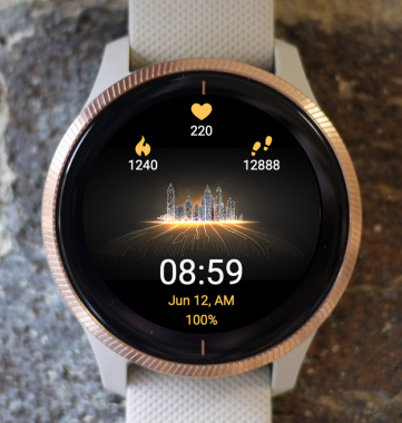 Garmin Watch Face - City 5