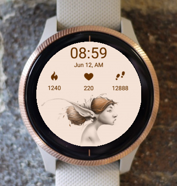 Garmin Watch Face - Elf