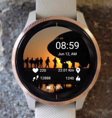 Garmin Watch Face - BW Air 06