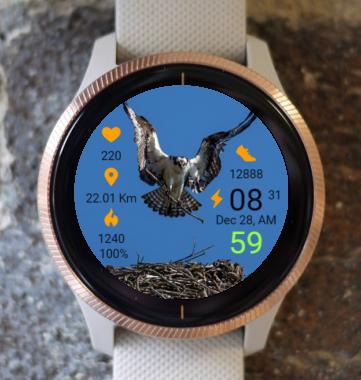 Garmin Watch Face - Home Construction