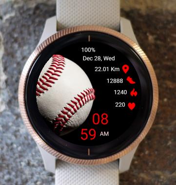 Garmin Watch Face - Baseball
