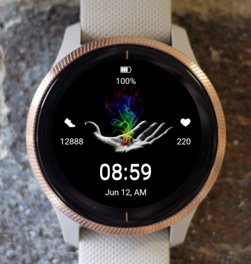 Garmin Watch Face - My Energy