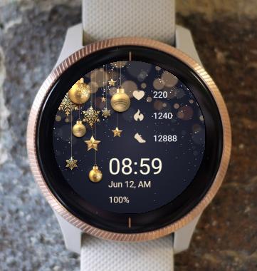 Garmin Watch Face - Golden CTG 02