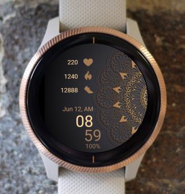 Garmin Watch Face - Mandala S