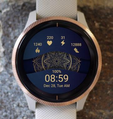 Garmin Watch Face - Mandala T13
