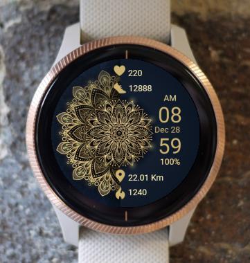 Garmin Watch Face - Mandala G18