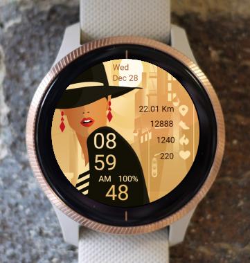 Garmin Watch Face - Pop Art