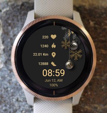 Garmin Watch Face - Golden C
