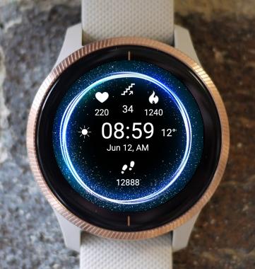 Garmin Watch Face - Eclipse X1