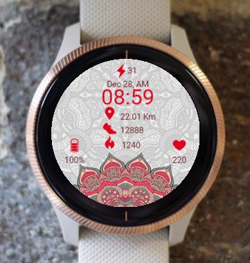 Garmin Watch Face - Matrix Mandala