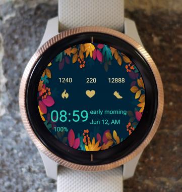 Garmin Watch Face - Autumn Around