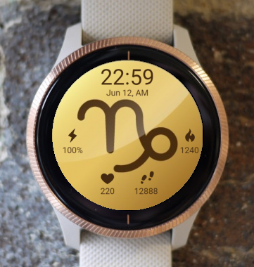 Garmin Watch Face - Capricorn 2