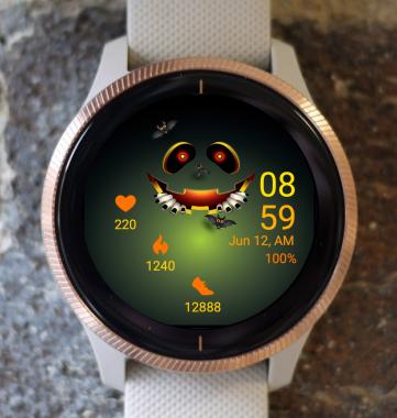 Garmin Watch Face - Halloween GT