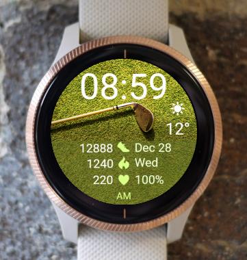 Garmin Watch Face - Golf 02