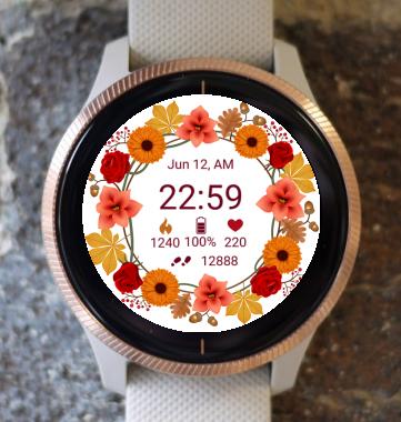 Garmin Watch Face - Autumn Magic 02