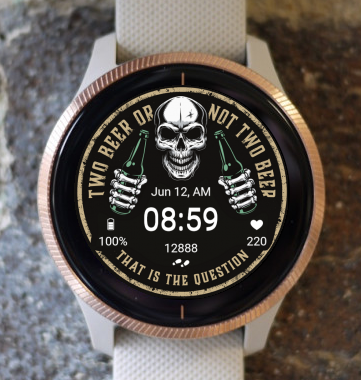 Garmin Watch Face - To beER