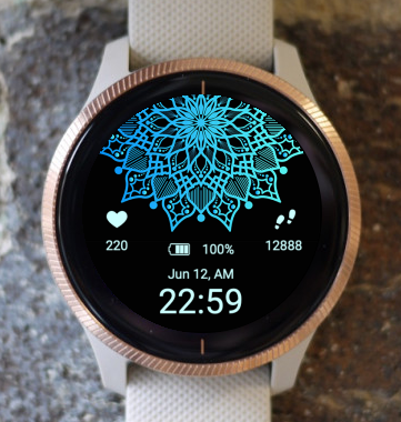 Garmin Watch Face - Mandala C1