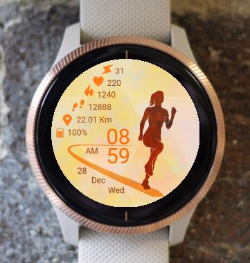 Garmin Watch Face - Run 17