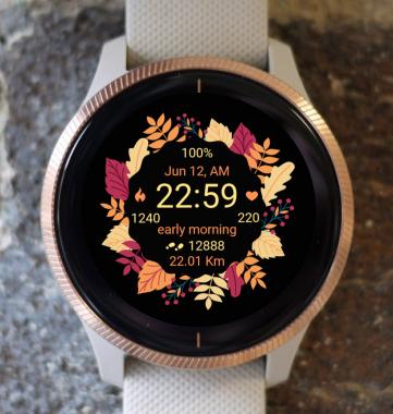Garmin Watch Face - Autumn Magic 14
