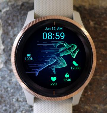 Garmin Watch Face - Run