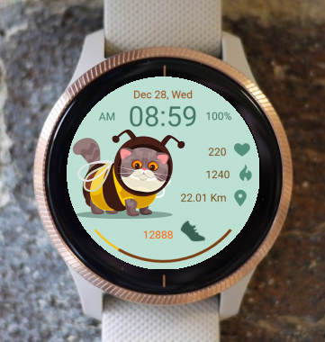 Garmin Watch Face - Bee