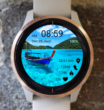 Garmin Watch Face - Summer
