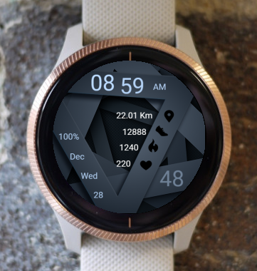 Garmin Watch Face - Lattice 10